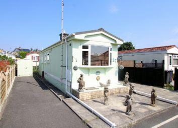 Thumbnail 2 bed mobile/park home for sale in Elizabeth Road, Upton Cross Caravan Park, Upton, Poole
