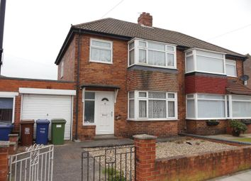 Thumbnail 3 bedroom semi-detached house for sale in Southway, Newcastle Upon Tyne