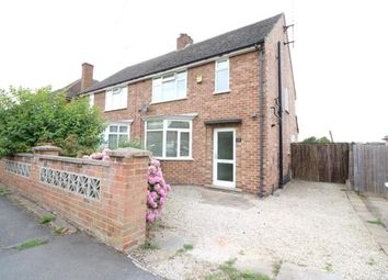 Thumbnail 3 bed semi-detached house to rent in Hall Avenue, Rushden
