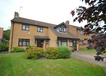 Thumbnail 4 bed detached house for sale in Tansy Close, West Hunsbury, Northampton