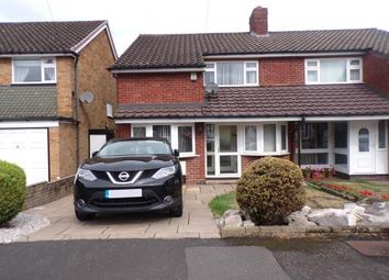 Thumbnail 3 bed semi-detached house for sale in Ipswich Crescent, Birmingham, West Midlands, .