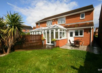 Thumbnail 3 bed semi-detached house for sale in Donerston Grove, Peterlee