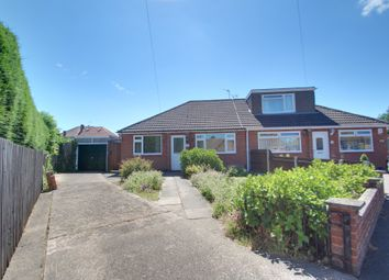 Thumbnail 2 bed semi-detached bungalow for sale in Hazel Close, Birstall, Leicester