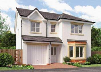 "Thumbnail 4 bed detached house for sale in ""Hughes"" at Red Deer Road, Cambuslang, Glasgow"