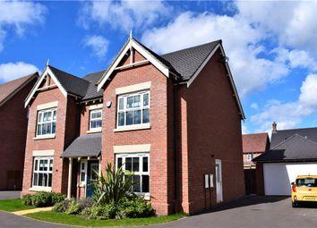 Thumbnail 5 bedroom detached house for sale in Summerhill Drive, St Nicholas Park, Nuneaton, Warwickshire