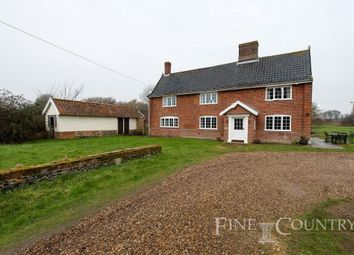 Thumbnail 4 bed farmhouse for sale in Pug Street, Shimpling, Diss