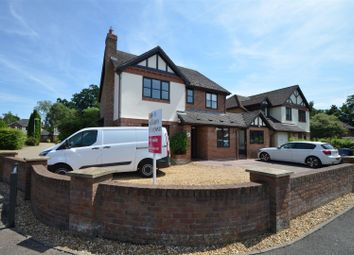 Thumbnail 4 bedroom detached house for sale in Woodcote Park, Wisbech