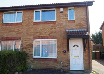 Thumbnail 3 bed semi-detached house to rent in Ambleside Close, Wellingborough