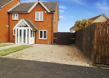 Thumbnail 3 bed end terrace house for sale in Maple Drive, Widdrington, Morpeth