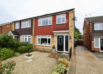 Thumbnail 3 bed semi-detached house for sale in Helmsdale Close, Romford