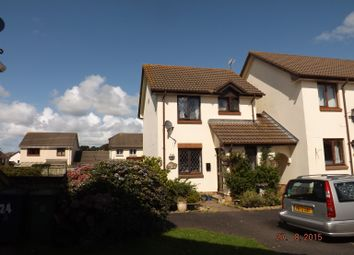 Thumbnail 2 bed semi-detached house to rent in Meadow Park, Barnstaple