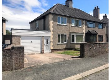Thumbnail 3 bed semi-detached house for sale in Bryn Garth, Denbigh