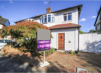 Thumbnail 3 bed semi-detached house for sale in Gunnersbury Crescent, Ealing Common