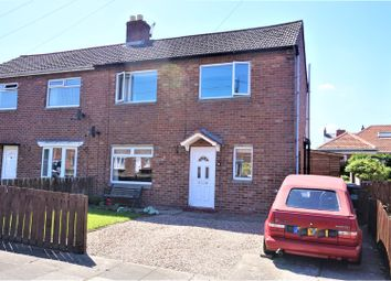 Thumbnail 2 bed semi-detached house for sale in Mccracken Drive, Newcastle Upon Tyne