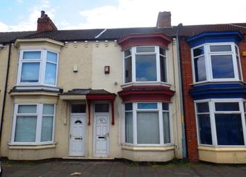 Thumbnail 3 bed terraced house for sale in Crescent Road, Middlesbrough, .