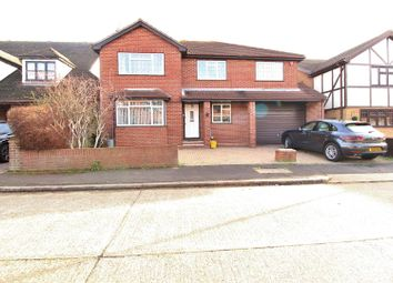 Thumbnail 5 bed detached house for sale in Elounda Court, Benfleet