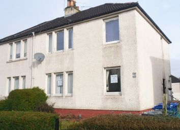 Thumbnail 1 bed flat for sale in Crags Cres, Paisley
