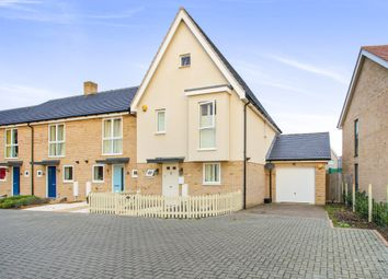Thumbnail 3 bed end terrace house for sale in Spitfire Road, Upper Cambourne, Cambridge