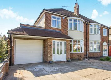 Thumbnail 3 bed semi-detached house for sale in Palmerston Boulevard, Leicester