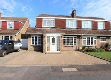 Thumbnail 4 bed semi-detached house for sale in Perrysfield Road, Cheshunt, Hertfordshire.