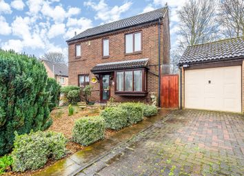 Thumbnail 3 bed detached house for sale in Raisins Field Close, Northampton