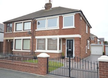 Thumbnail 3 bed semi-detached house for sale in Stadium Avenue, Blackpool