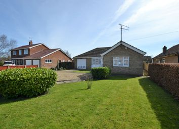 Thumbnail 3 bed detached bungalow for sale in Station Road, Watlington, King's Lynn