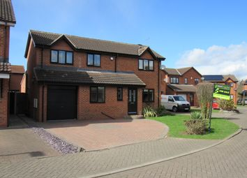 Thumbnail 4 bed detached house for sale in Graftdyke Close, Rossington, Doncaster