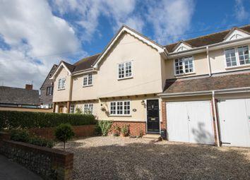 Thumbnail 3 bed terraced house for sale in Pelham Road, Clavering, Saffron Walden