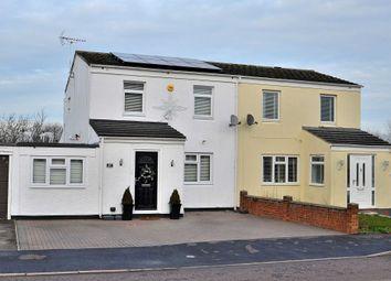Thumbnail 4 bed semi-detached house for sale in Thane Court, Stantonbury, Milton Keynes