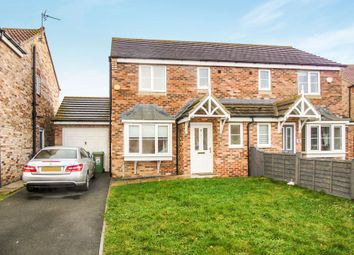 Thumbnail 3 bed semi-detached house for sale in Sedgewick Close, Hartlepool