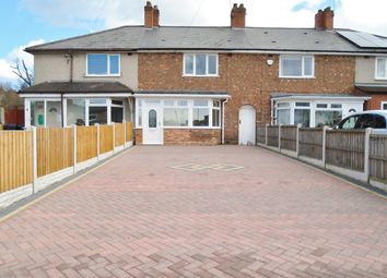 Thumbnail 3 bed terraced house to rent in Glendon Road, Erdington, Birmingham
