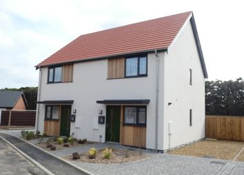 Thumbnail 2 bedroom semi-detached house for sale in Crabtree Close, Watton, Norfolk