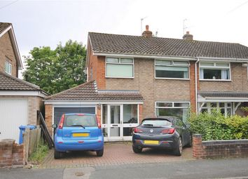 Thumbnail 3 bed semi-detached house for sale in Knightsbridge Avenue, Grappenhall, Warrington
