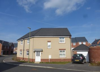 Thumbnail 3 bed semi-detached house for sale in Fleece Close, Andover Down, Andover