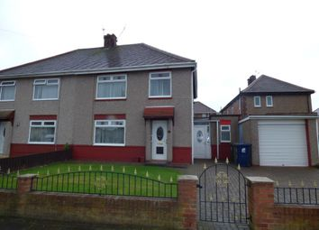 Thumbnail 3 bed semi-detached house for sale in Mansfield Road, Eston, Middlesbrough