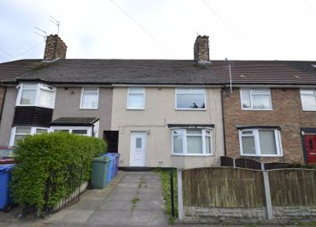 Thumbnail 1 bed terraced house to rent in Rycot Road, Liverpool