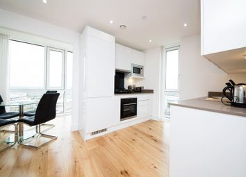 Thumbnail 2 bed flat to rent in Sky View Tower, 12 High Street, Stratford, Stratford, London