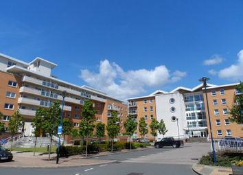 Thumbnail 1 bed flat to rent in Nice House, Hampton Court, Century Wharf, Cardiff