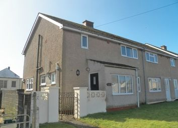 Thumbnail 3 bed end terrace house to rent in Croft Avenue, Hakin, Milford Haven