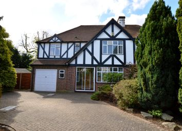 Thumbnail 5 bed semi-detached house for sale in Edenfield Gardens, Worcester Park