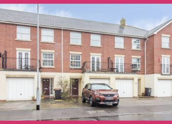 Thumbnail 4 bed terraced house for sale in Cambrian Grove, Marshfield, Cardiff