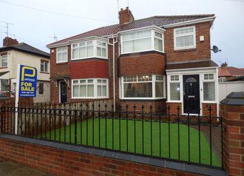 Thumbnail 3 bed semi-detached house for sale in Elsdon Mews, High Lane Row, Hebburn