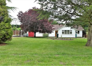 Thumbnail 4 bedroom detached bungalow for sale in Moor Lane, Roughton, Woodhall Spa