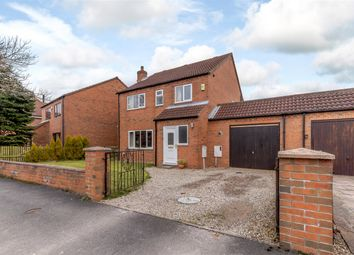 Thumbnail 4 bed detached house for sale in Bravener Court, Newton On Ouse, York