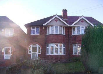 Thumbnail 3 bedroom semi-detached house for sale in Beaufort Avenue, Hodge Hill, Birmingham, West Midlands