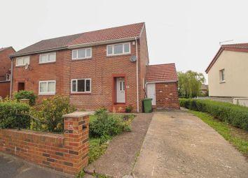Thumbnail 3 bed semi-detached house for sale in Tynebank, Blaydon-On-Tyne