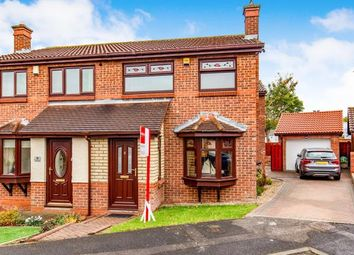 Thumbnail 3 bed semi-detached house for sale in Westkirk Close, Darlington