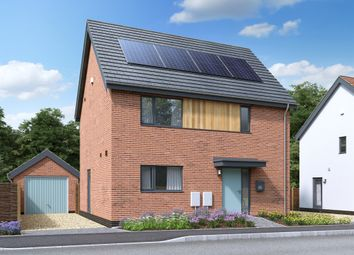Thumbnail 3 bed detached house for sale in Watton Green, Watton, Thetford