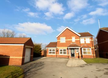 Thumbnail 4 bed detached house for sale in Tadman Close, Beverley